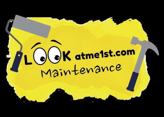Lookatme1st.com Maintenance Logo